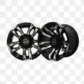 Car - Alloy Wheel Car Golf Buggies Tire Rim PNG