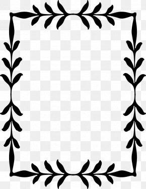 Leaf Border - Branch Leaf Tree Clip Art PNG