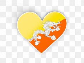 Flag - Flag Of Bhutan Flags Of The World National Flag PNG