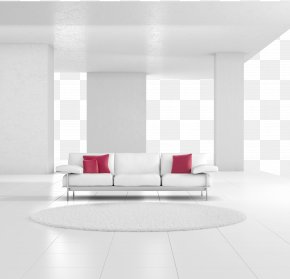 White Simple Living Room Decoration - Light Fixture Wall Living Room Interior Design Services Air Purifier PNG