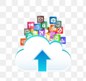 Cloud Storage - Upload Free Web Hosting Service Wi-Fi Icon PNG