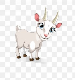 Sheep - Goat Sheep Cartoon Illustration PNG