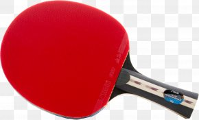 Ping Pong Racket Image - Table Tennis Racket Red PNG