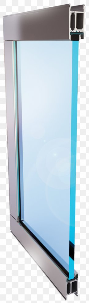 Thermally Broken Window Frame Detail - Window Laminated Glass Product Glazing PNG