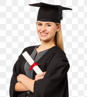 Kids Graduate - Graduation Ceremony Academic Dress Graduate University Master's Degree Gown PNG