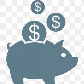 Tax Prep Cliparts - Piggy Bank Money Saving Icon PNG