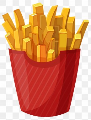 Fries PNG - Hamburger McDonald's French Fries Fast Food Clip Art PNG
