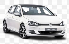 White Volkswagen Golf Car - 2014 Volkswagen Golf 2012 Volkswagen Golf Car Volkswagen Golf GTI PNG
