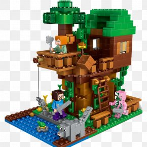 My World Lego Tree House - Lego Minecraft Toy Block Lego Minifigure PNG