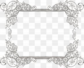 Victorian Frame Cliparts - Wedding Invitation Paper Picture Frame Clip Art PNG