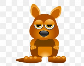 Kangaroo - Baby Jungle Animals Cartoon Royalty-free PNG