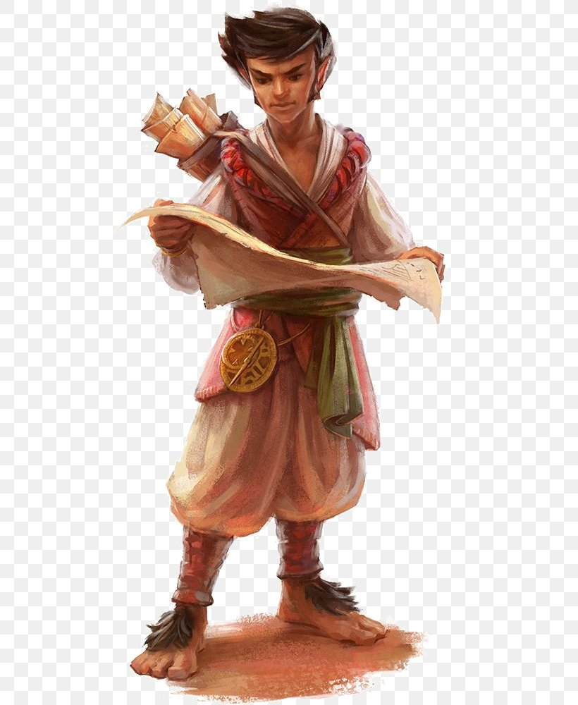 Dungeons Dragons Pathfinder Roleplaying Game D20 System Halfling Thief Png 534x1000px Dungeons Dragons Bard Costume