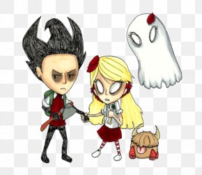 Don't Starve - Don't Starve Together Cartoon Comics Drawing Fan Art PNG