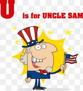 Cartoon Letter - United States Uncle Sam Royalty-free Clip Art PNG