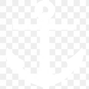 Anchor - Black And White Point Angle Pattern PNG
