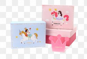 Cartoon Princess Prince Packing Box - Gift Box Packaging And Labeling Paper Bag Tmall PNG