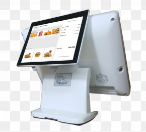 Computer - Touchscreen Computer Monitors Point Of Sale Interactive Kiosks PNG