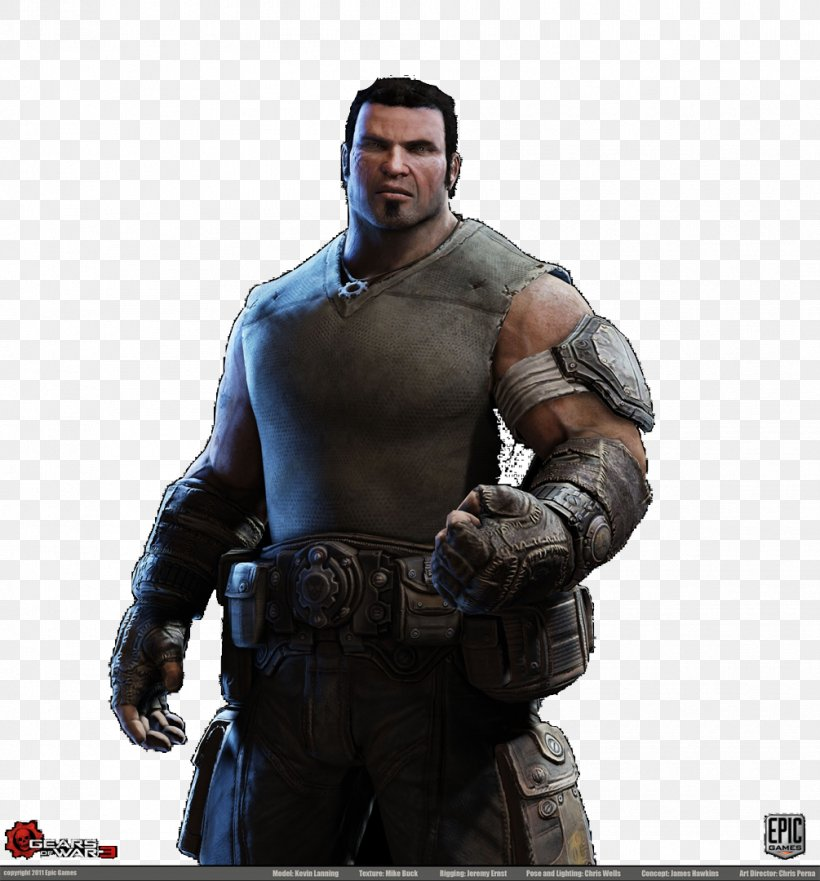 Gears Of War 3 Gears Of War 4 Marcus Fenix Png 1005x1080px