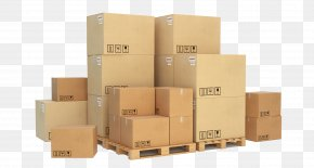Boxes - Pallet Cargo Cardboard Box Stock Photography PNG