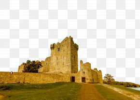 Highland Ancient History - Castle Ruins Historic Site Landmark Fortification PNG