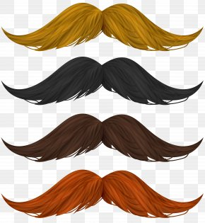Mustache Set Clip Art Image - Image File Formats Lossless Compression PNG