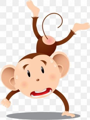 Monkey - Wall Decal Sticker The Evil Monkey Drawing PNG