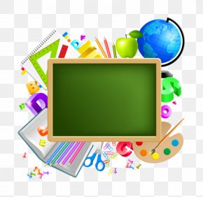 School School Supplies - School Supplies Royalty-free PNG