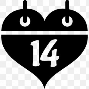 Valentine's Day - Valentine's Day Calendar Computer Icons Heart PNG