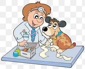 Dress Up The Dog - Puppy Dog Horse Veterinarian Clip Art PNG