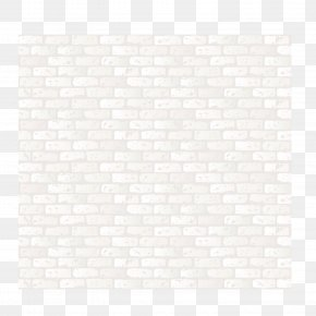 Fine White Brick - Black And White Texture Material Pattern PNG