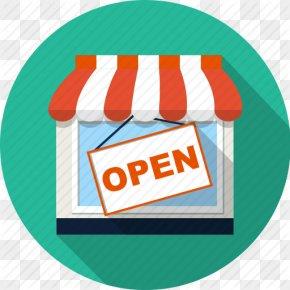 Icon Retail Store - Icon Design Clip Art PNG