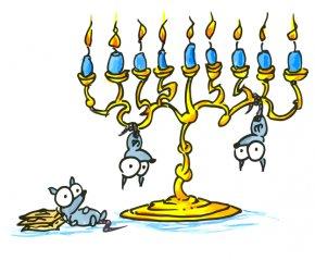 Hanukkah Menorah Pictures - Hanukkah Menorah Judaism Clip Art PNG