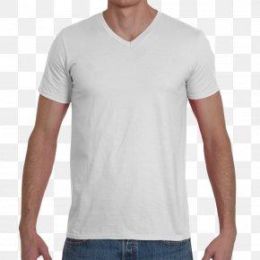 T-shirt - T-shirt Clothing Sleeve Crew Neck Gildan Activewear PNG