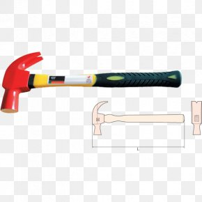 Hammer - Claw Hammer Hand Tool Handle Sledgehammer PNG