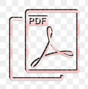 Pink Pdf Icon - Pdf Icon PNG