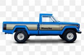Pickup Truck - Pickup Truck Jeep Wagoneer Jeep Honcho Car PNG