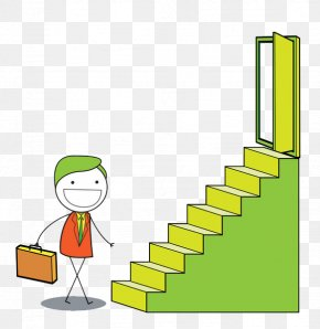 The Man With A Bag Ready To Climb The Stairs - Stairs Stock Photography Can Stock Photo Clip Art PNG