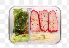 Bento Glass Box - Bento Ekiben Lunch Box PNG
