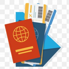 Vector Passport Ticket - Naa Exchange Travel Visa Passport Service PNG