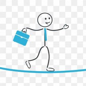 Stickman Child Suitcase - Walking Businessperson Clip Art PNG