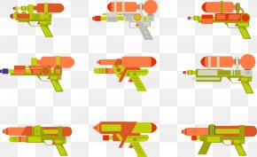 Children's Recreational Water Gun Tools - Firearm Water Gun Toy Child PNG