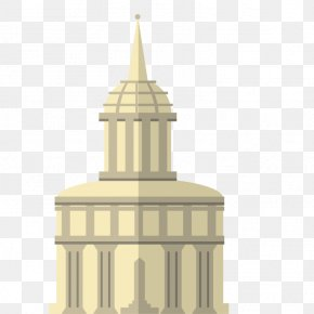Vector White House - Architecture Cartoon PNG