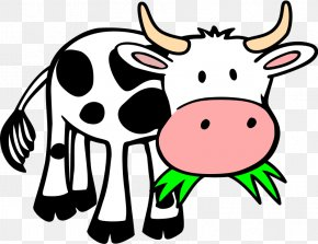 Baby Cow Cliparts - Cattle Livestock Farm Clip Art PNG
