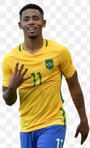 Gabriel Jesus - Gabriel Jesus Brazil National Football Team 2018 FIFA World Cup Manchester City F.C. PNG