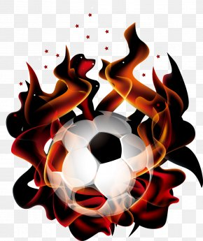 Flame Football - Head Soccer Android Football Flame PNG