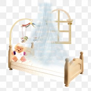 Princess Bed Room - Infant Bed Mosquito Net Clip Art PNG