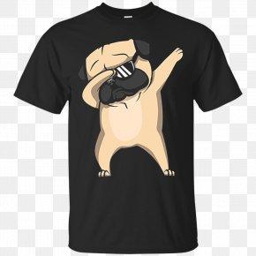 T-shirt - T-shirt Pug Puppy Hoodie PNG