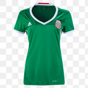 Mexican Soccer Cliparts - Mexico National Football Team FIFA World Cup T-shirt Jersey PNG