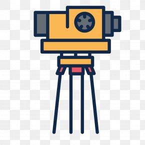 Flat Vector Material Camera - Video Camera Icon PNG