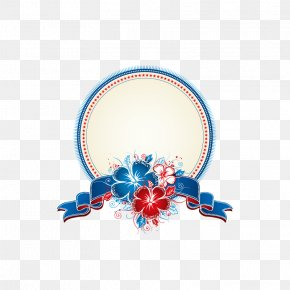 Flower Decoration Ring - Picture Frame Flower Clip Art PNG